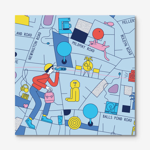Map · Dalston & Stoke Newington