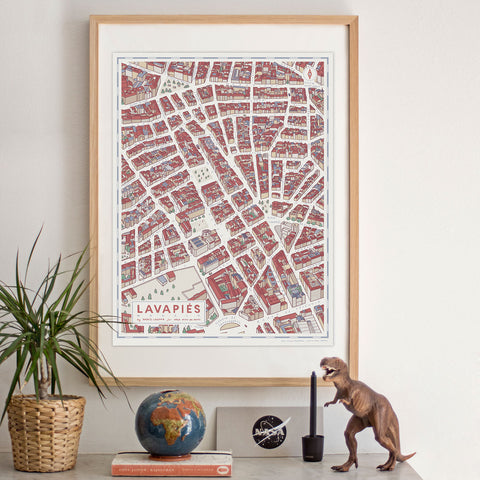 Madrid Map · Lavapiés
