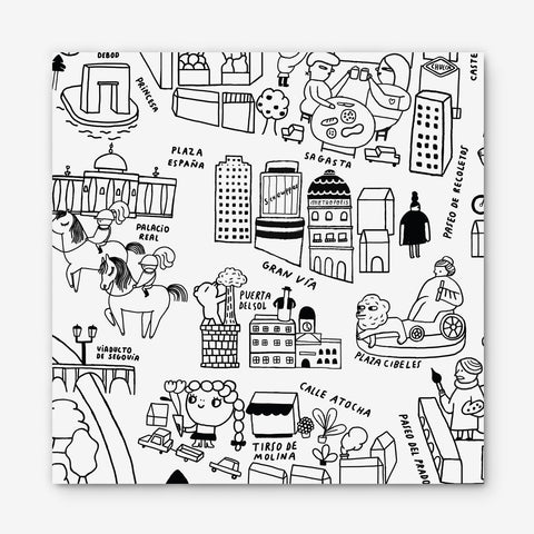 Map · Madrid for Kids