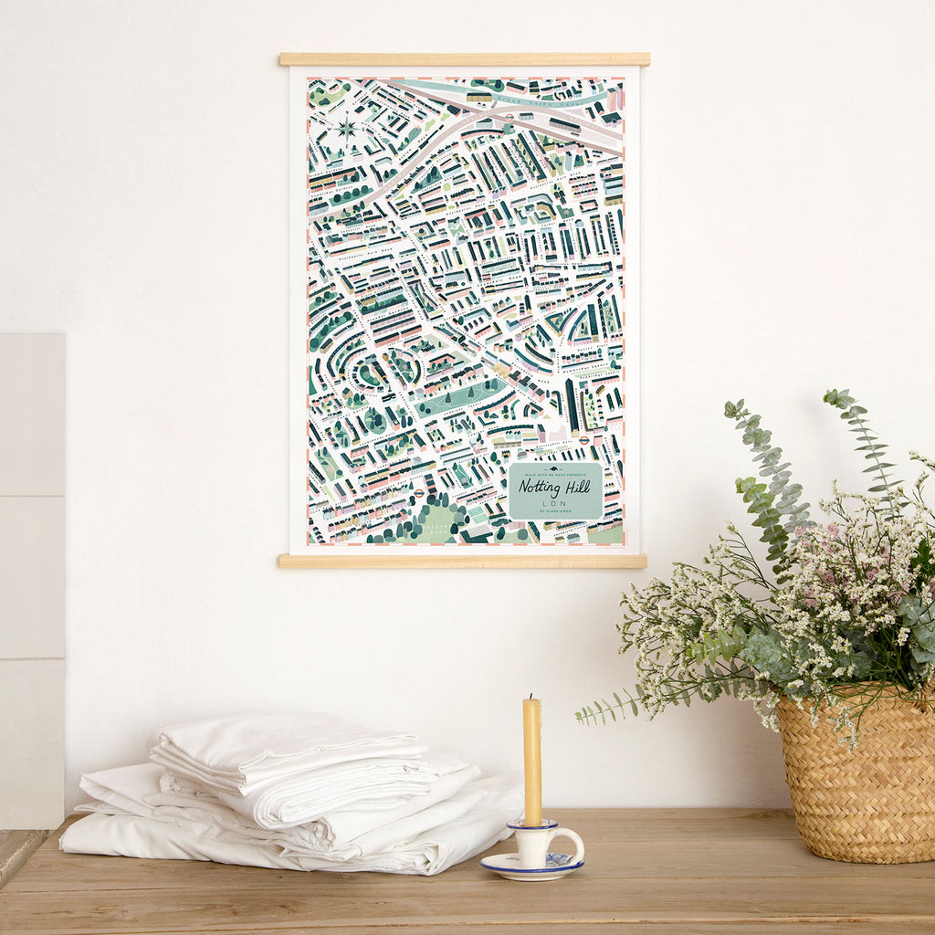 London Map · Notting Hill