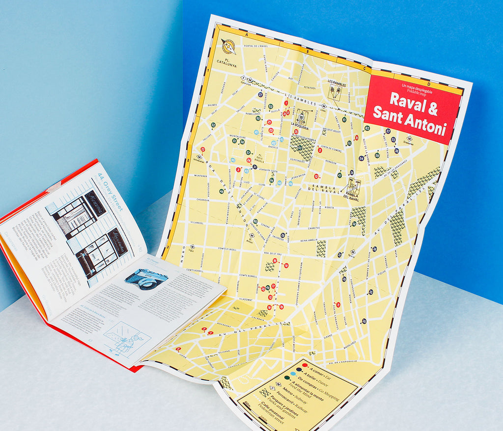 Raval & Sant Antoni · Pocket Guide