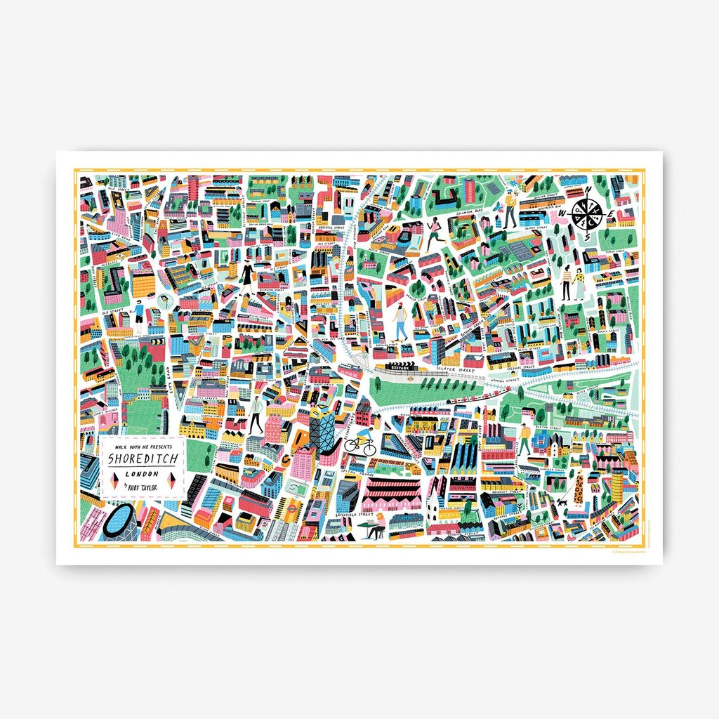 London Map · Shoreditch