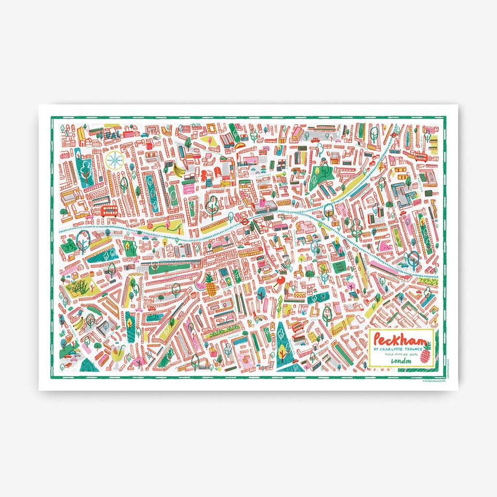 London Map · Peckham