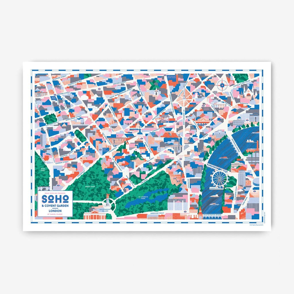 London Map · Soho