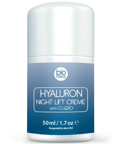 Bioniva Bionura Hyaluron Night Lift Creme CoQ10 Anti-Aging Cream