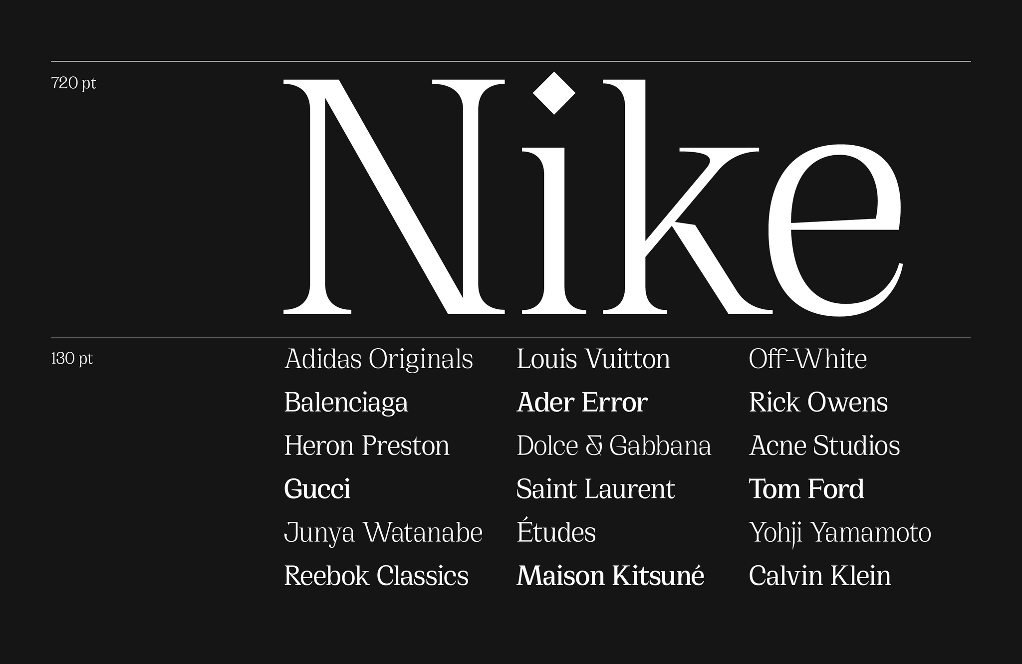 Cirka - An elegant and sharp serif font - Free to Try
