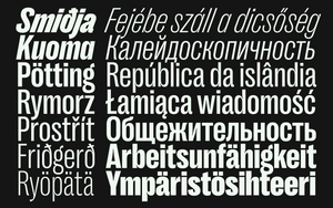 Right Grotesk - Narrow Family