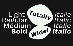 Right Grotesk - Wide Text Family
