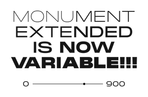 Monument Extended