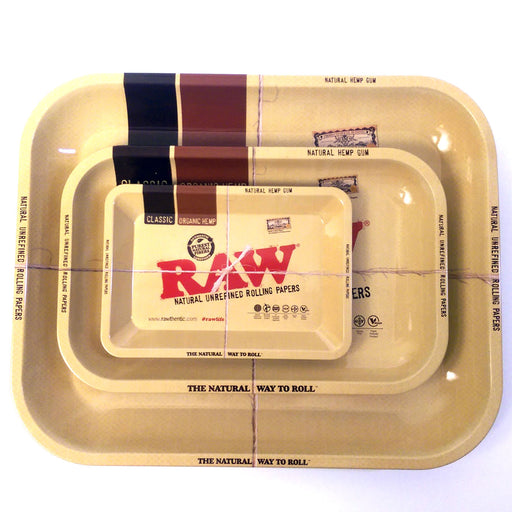 "YourGreenScene Authentic Large ""Raw"" Rolling Tray (14 X 11 inches)"