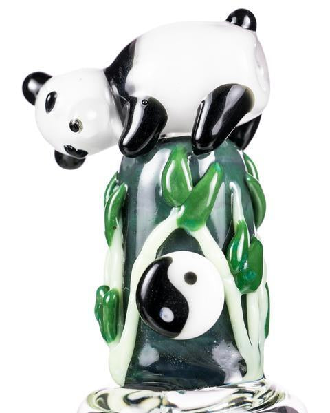 YourGreenScene Panda Family Mini Bong by Empire Glassworks