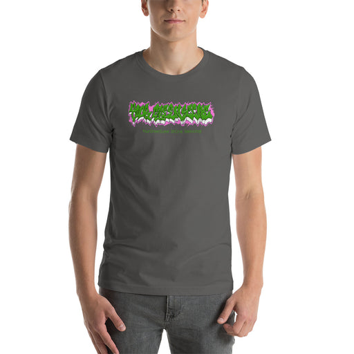 YourGreenScene Stretched Wildstyle Logo Tee