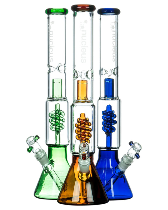 "YourGreenScene 16"" Coil Perc Beaker with Removable Downstem"