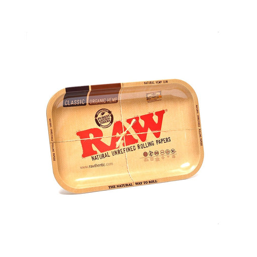 "YourGreenScene Authentic Small ""Raw"" Rolling Tray (11 x 7 inches)"