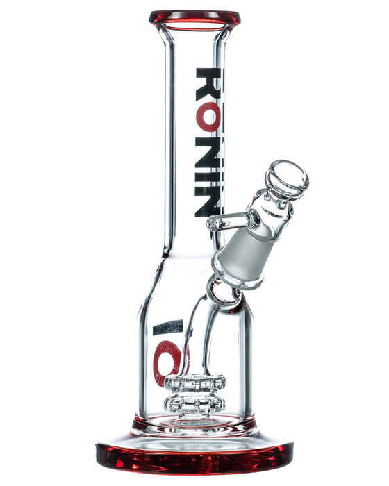 "YourGreenScene Kawa 7"" Long Neck Double Disc Mini Bong by Ronin"