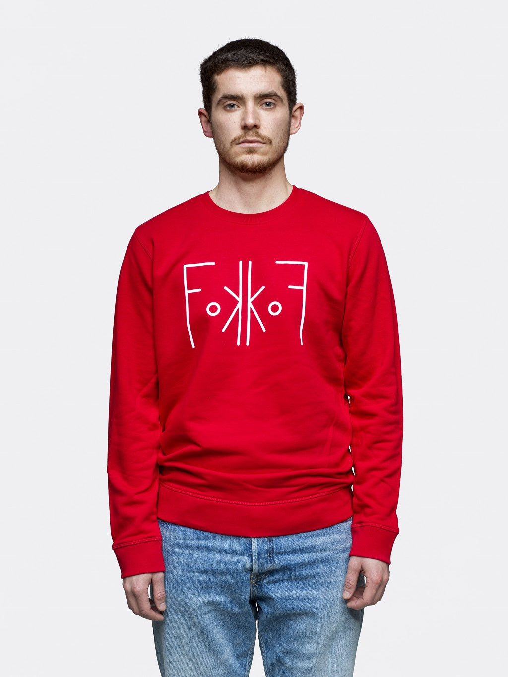 FokkoF Sweater - Loving Red