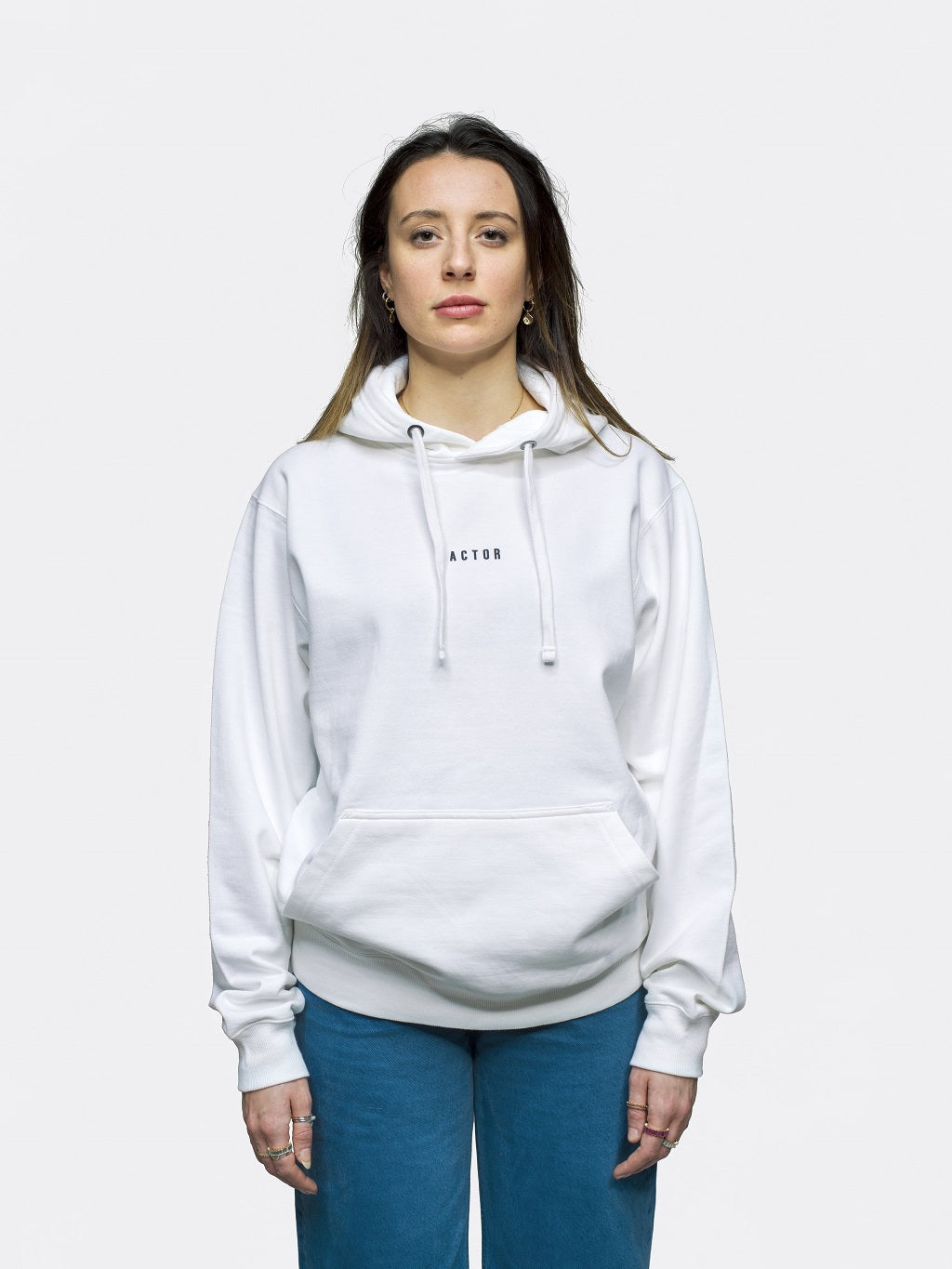 ACTOR Hoodie - White
