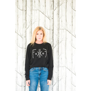 Black Sweater - Unisex - Barbara Sarafian - FoKKoF