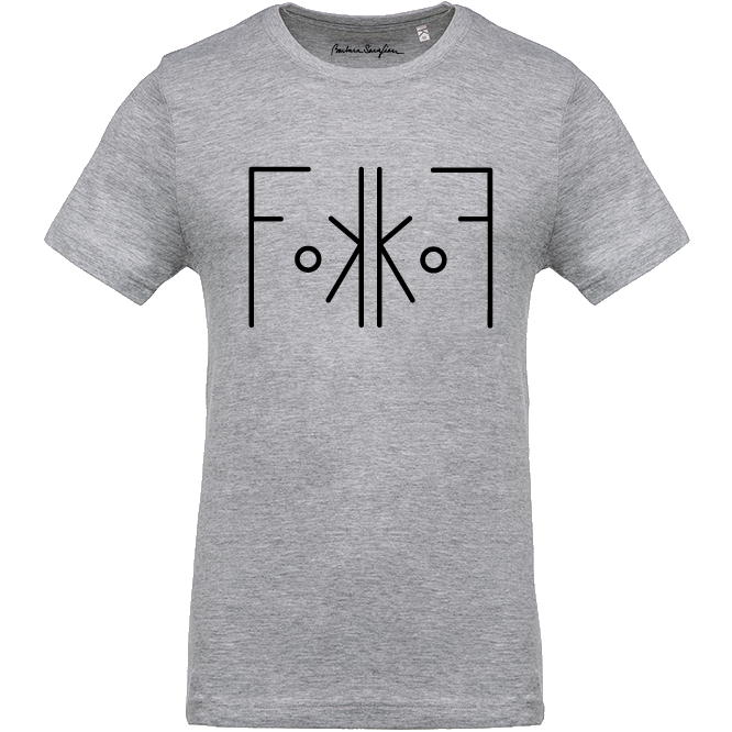 Men FoKKoF T-Shirt Grey - Barbara Sarafian