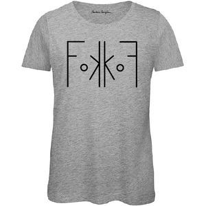 Women FokkoF T-Shirt Grey - Barbara Sarafian