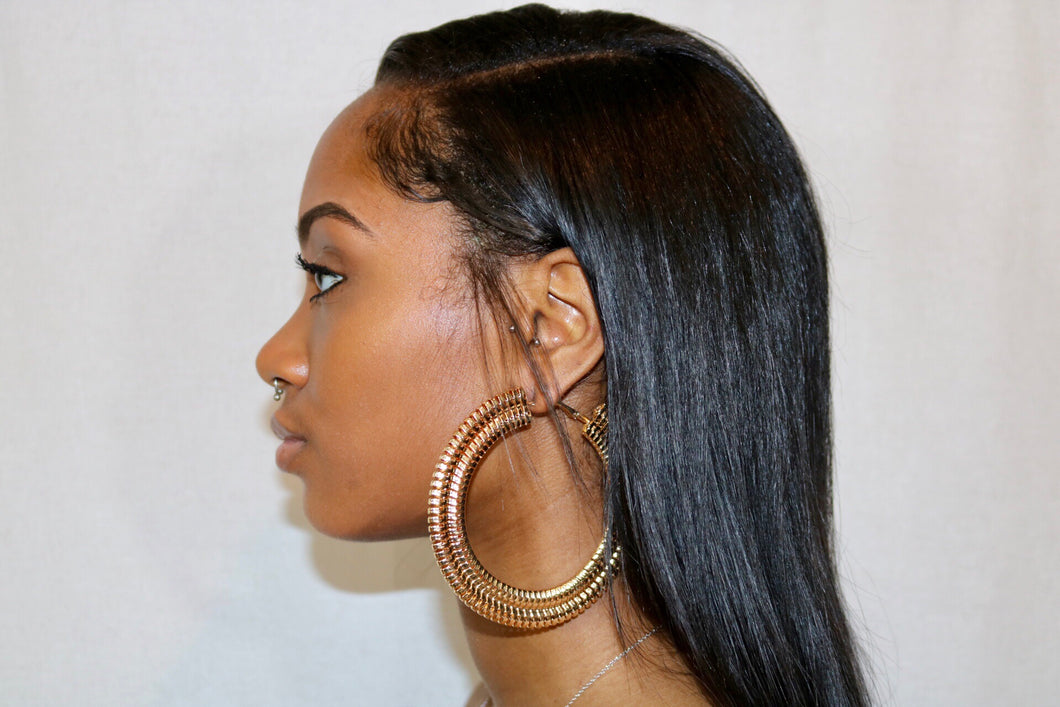 Nice for What - Gold Hoops