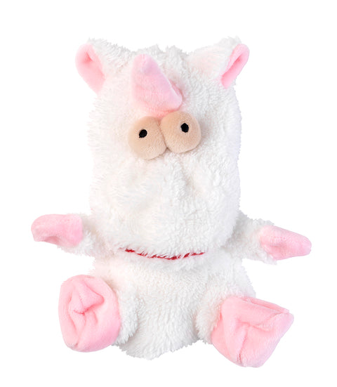 Flat Out Electra the Unicorn Plush Dog Toy