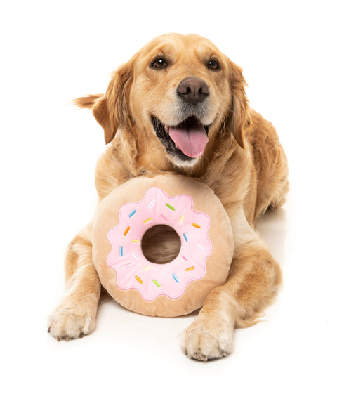 Giant Donut Dog Toy