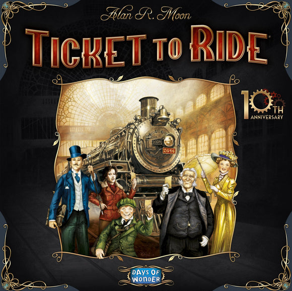 Ticket to Ride 10th Anniversary Edition Rental