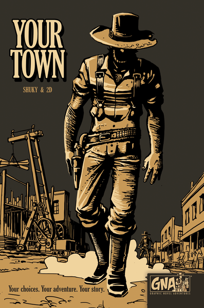 Graphic Novel Adventures: Your Town Rental