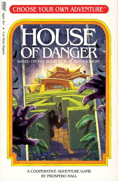 Choose your Own Adventure: House of Danger Rental