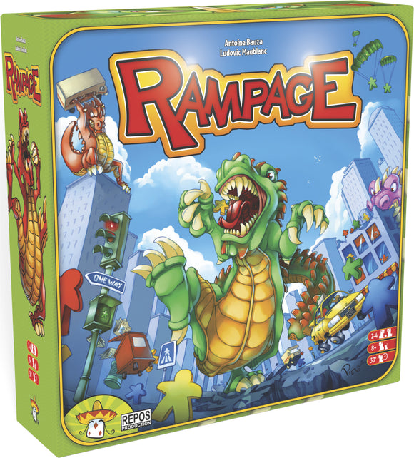 Rampage AKA Terror in Meeple City Rental