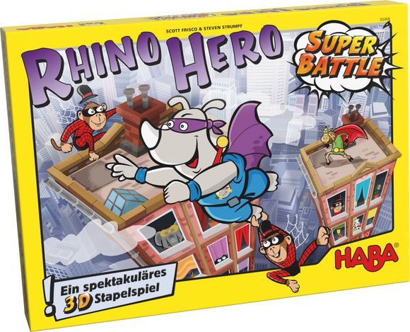 Rhino Hero Super Battle Rental