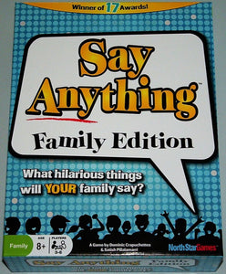 Say Anything Family Edition Rental
