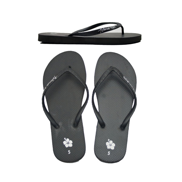 IS Ladies Black Mermaid Slops