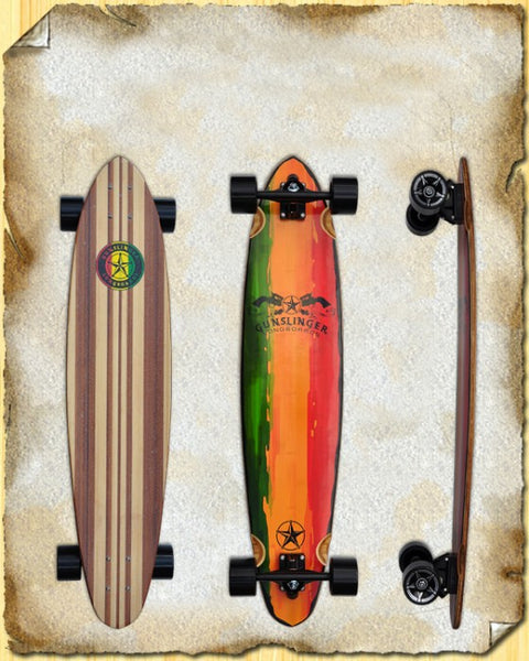 "40 Rasta 40""/1016mm 7 Ply Bamboo - Cruiser"