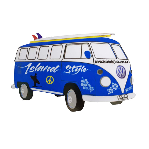 IS VW FLEETLINE KOMBI STICKERS - (Choose Colour)