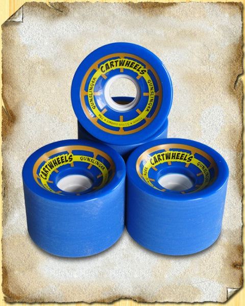 Cartwheels Blue 78A - 70 x 51mm