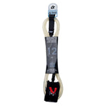 IS 8mm Cord Double Swivel Ankle SUP Leash - Length 12ft