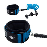 Island Style 8mm Coiled Bicep Leash Storm Signature (S/S Ring)