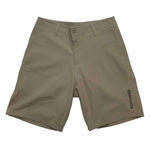 MENS COTTON TWILL WALK SHORTS - KHAKI