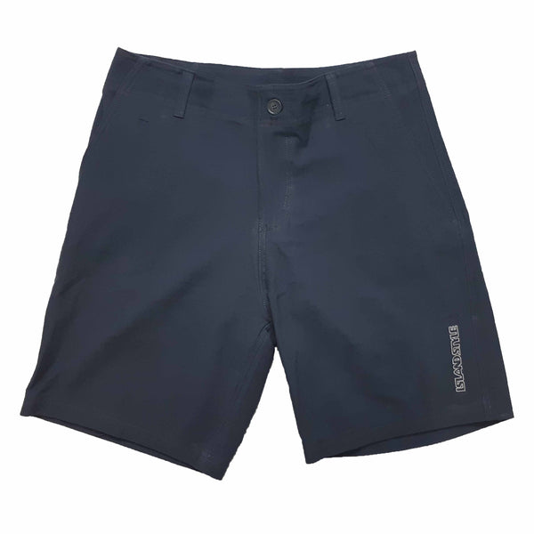 MENS COTTON TWILL WALK SHORTS - NAVY