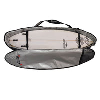 Island Style Pro Traveller Tarpaulin Shortboard Cover (Fits 4 boards)- 22mm Padding All Round