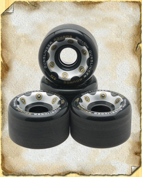 Rounds Black 83A - 70 x 42mm