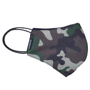 FACE MASK - CAMO Ear Elastic or Neck Elastic