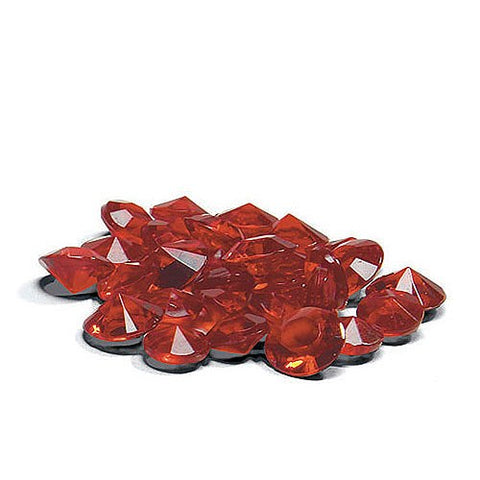 Acrylic Diamond Confetti - Ruby