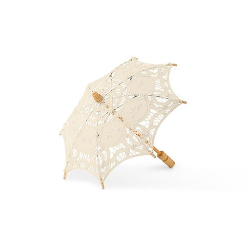 Antique Lace Parasol - Cream