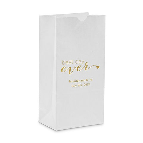 """Best day ever"" Self Standing Paper Bag"