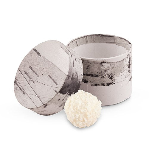 Birch Circular Favor Box