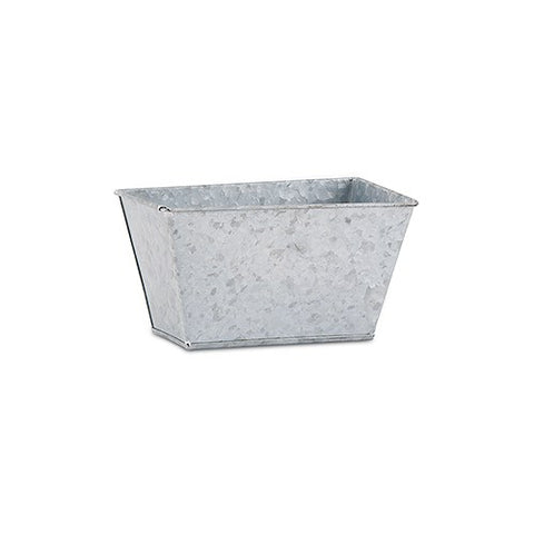 Tin Rectangular Planter