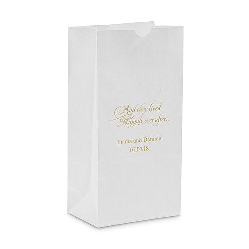 Happily Ever After Self Standing Paper Bag